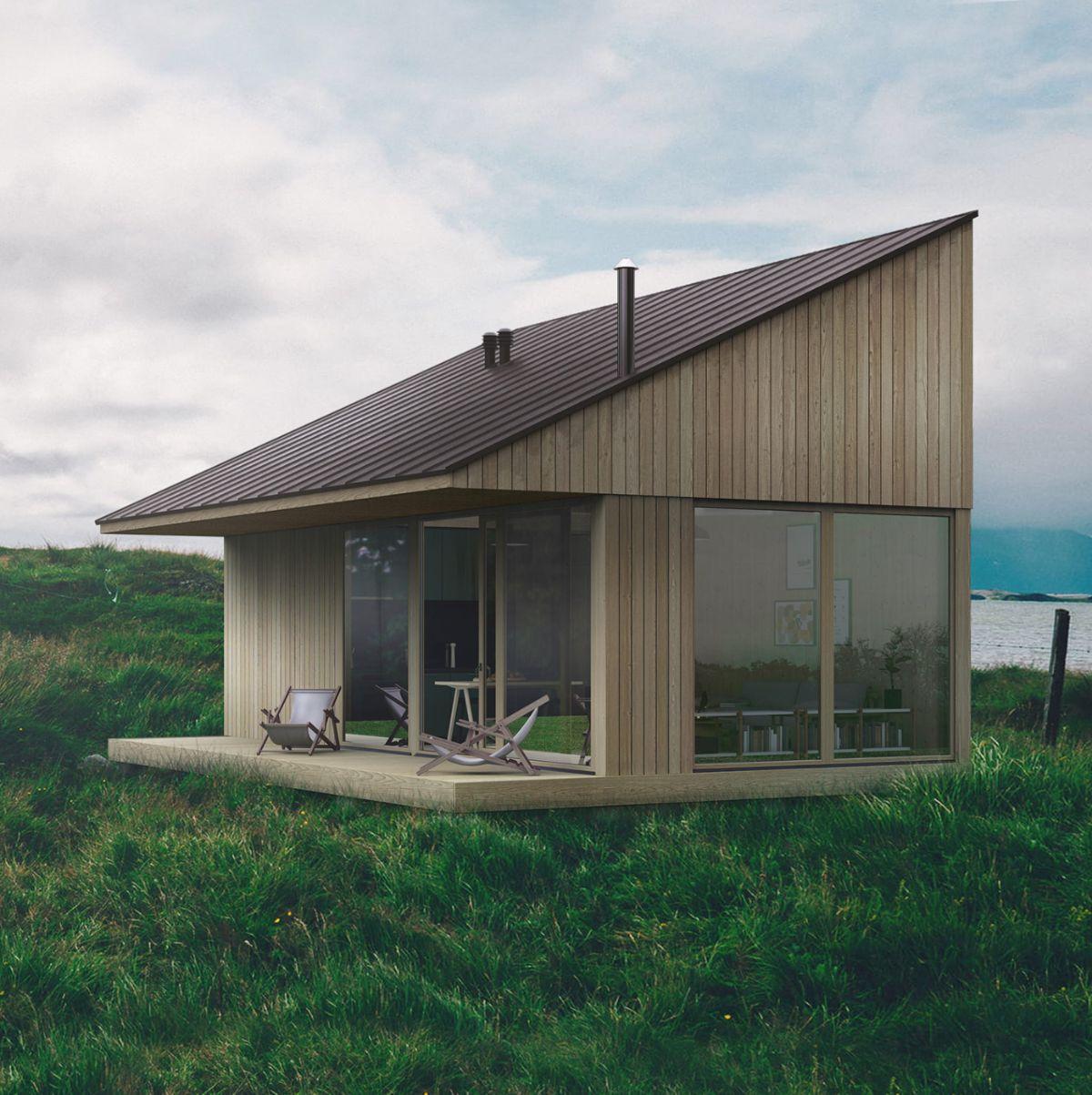 6 powodów, by wybudować dom na zgłoszenie do 35m2.  Dom bez pozwolenia na budowę.